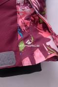 Оптом Комбинезон подростковый для девочки розовый 8808R в Казани, фото 7