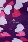 Оптом Горнолыжный костюм подростковый для девочки бирюзовый 8814Br в Казани, фото 7