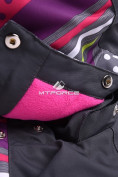 Оптом Горнолыжный костюм подростковый для девочки темно-серый 8816TС в  Красноярске, фото 14