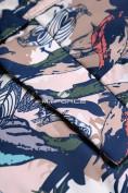 Оптом Горнолыжный костюм подростковый для девочки темно-синий 8818TS в  Красноярске, фото 10