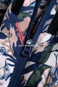 Оптом Горнолыжный костюм подростковый для девочки темно-синий 8818TS в  Красноярске, фото 11