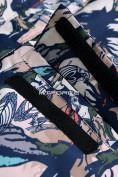 Оптом Горнолыжный костюм подростковый для девочки темно-синий 8818TS в  Красноярске, фото 14