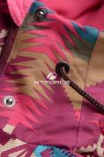 Оптом Горнолыжный костюм подростковый для девочки черный 8820Ch в  Красноярске, фото 22