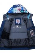 Оптом Горнолыжный костюм подростковый для мальчика синий 8823S в  Красноярске, фото 5