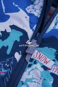 Оптом Горнолыжный костюм подростковый для мальчика синий 8823S в  Красноярске, фото 15