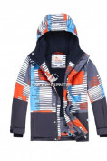 Оптом Горнолыжный костюм подростковый для мальчика оранжевый 8825O в Казани, фото 2