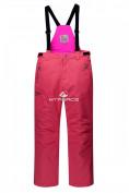 Оптом Горнолыжный костюм подростковый для девочки розовый 8830R в  Красноярске, фото 4
