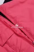 Оптом Горнолыжный костюм подростковый для девочки розовый 8830R в  Красноярске, фото 11