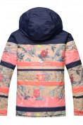 Оптом Горнолыжный костюм подростковый для девочки розовый 8830R в  Красноярске, фото 3