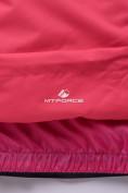 Оптом Горнолыжный костюм подростковый для девочки розовый 8830R в  Красноярске, фото 14