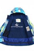 Оптом Горнолыжный костюм подростковый для мальчика синего 8825S в Казани, фото 6