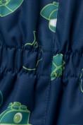 Оптом Комбинезон детский темно-синего цвета 8903TS, фото 5