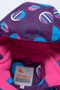 Оптом Комбинезон для девочки зимний фиолетового цвета 8906F в  Красноярске, фото 11