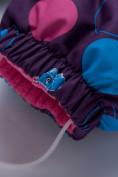 Оптом Комбинезон для девочки зимний фиолетового цвета 8906F в  Красноярске, фото 5