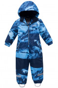 Оптом Комбинезон для мальчика зимний синего цвета 8907S в Екатеринбурге