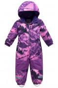 Оптом Комбинезон для девочки зимний фиолетового цвета 8908F в Екатеринбурге