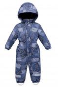 Оптом Комбинезон детский синего цвета 8909S