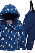 Оптом Горнолыжный костюм детский темно-синего цвета 8911TS в Екатеринбурге