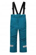 Оптом Горнолыжный костюм детский бирюзового цвета 8914Br в  Красноярске, фото 5