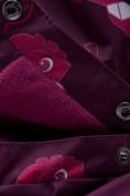 Оптом Горнолыжный костюм детский малинового цвета 8914M в Екатеринбурге, фото 13