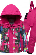 Оптом Горнолыжный костюм для ребенка розового цвета 8926R в Нижнем Новгороде