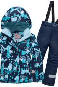 Оптом Горнолыжный костюм для ребенка синего цвета 8928S в  Красноярске