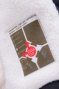 Оптом Куртка парка зимняя подростковая для мальчика темно-синего цвета 8931TS, фото 5