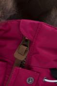 Оптом Куртка парка зимняя подростковая для девочки темно-синего цвета 8934TS в Нижнем Новгороде, фото 15