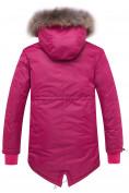 Оптом Куртка парка зимняя подростковая для девочки темно-синего цвета 8934TS в Нижнем Новгороде, фото 2
