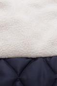 Оптом Куртка парка зимняя подростковая для девочки темно-синего цвета 8934TS в Нижнем Новгороде, фото 4