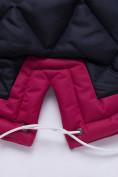 Оптом Куртка парка зимняя подростковая для девочки темно-синего цвета 8934TS в Екатеринбурге, фото 5