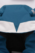Оптом Горнолыжный костюм детский Valianly зеленого цвета 9001Z, фото 7