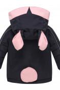 Оптом Горнолыжный костюм детский Valianly черного цвета 9002Ch, фото 2