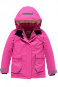 Оптом Горнолыжный костюм Valianly детский розового цвета 9004R, фото 2