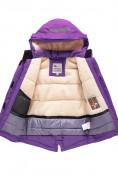 Оптом Горнолыжный костюм Valianly детский темно-фиолетового цвета 9004TF, фото 6