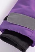 Оптом Горнолыжный костюм Valianly детский темно-фиолетового цвета 9004TF, фото 13