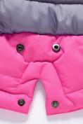 Оптом Горнолыжный костюм Valianly детский розового цвета 9004R, фото 12