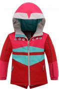 Оптом Горнолыжный костюм детский Valianly красного цвета 9006Kr, фото 2