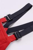 Оптом Горнолыжный костюм детский Valianly красного цвета 9006Kr, фото 16