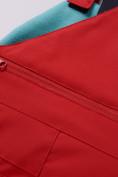 Оптом Горнолыжный костюм детский Valianly красного цвета 9006Kr, фото 22