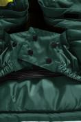 Оптом Горнолыжный костюм Valianly детский темно-зеленого цвета 90071TZ в Екатеринбурге, фото 11