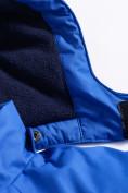 Оптом Горнолыжный костюм Valianly детский темно-синего цвета 90071TS, фото 8