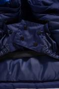 Оптом Горнолыжный костюм Valianly детский темно-синего цвета 90071TS, фото 12