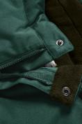 Оптом Горнолыжный костюм Valianly детский темно-зеленого цвета 90071TZ в Екатеринбурге, фото 15