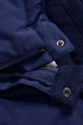 Оптом Горнолыжный костюм Valianly детский темно-синего цвета 90071TS, фото 16
