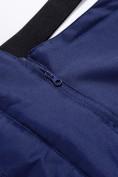 Оптом Горнолыжный костюм Valianly детский темно-синего цвета 90071TS, фото 17