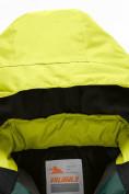 Оптом Горнолыжный костюм Valianly детский темно-зеленого цвета 90071TZ в Екатеринбурге, фото 7