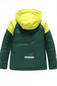 Оптом Горнолыжный костюм Valianly детский темно-зеленого цвета 90071TZ в Екатеринбурге, фото 3