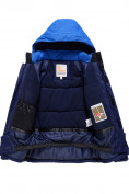 Оптом Горнолыжный костюм Valianly детский темно-синего цвета 90071TS, фото 6