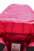 Оптом Горнолыжный костюм Valianly для девочки малинового цвета 90081M в Екатеринбурге, фото 7